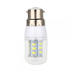 B22 3W  LED Corn Light Bulb 24 LEDs 5730 SMD Warm Cool White AC220V
