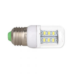 E26 3W  LED Corn Light Bulb 24 LEDs 5730 SMD Warm Cool White AC110V