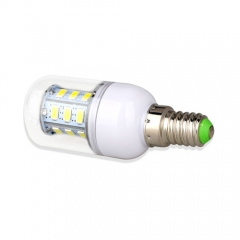 E14 3W  LED Corn Light Bulb 24 LEDs 5730 SMD Warm Cool White AC220V