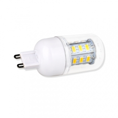 G9 3W  LED Corn Light Bulb 24 LEDs 5730 SMD Warm Cool White AC220V 110V