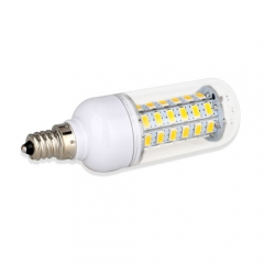E12 6.5W  LED Corn Light Bulb 48 LEDs 5730 SMD Warm Cool White AC110V