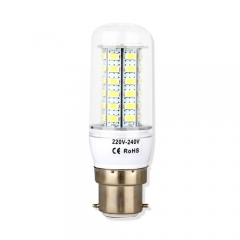 B22 6.5W  LED Corn Light Bulb 48 LEDs 5730 SMD Warm Cool White AC220V