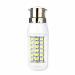 B22 9W  LED Corn Light Bulb 69 LEDs 5730 SMD Warm Cool White AC220V