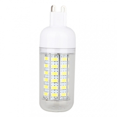 G9 7.5W  LED Corn Light Bulb 56 LEDs 5730 SMD Warm Cool White AC220V 110V