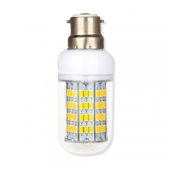 B22 14.5W  LED Corn Light Bulb 108 LEDs 5730 SMD Warm Cool White AC220V