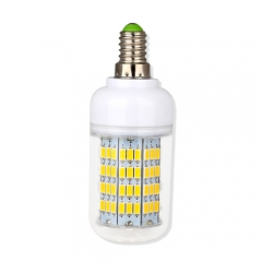 E14 14.5W  LED Corn Light Bulb 108 LEDs 5730 SMD Warm Cool White AC220V