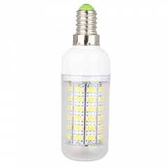 E14 7.5W  LED Corn Light Bulb 56 LEDs 5730 SMD Warm Cool White AC220V