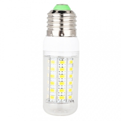 E27 7.5W  LED Corn Light Bulb 56LEDs 5730 SMD Warm Cool White AC 220V
