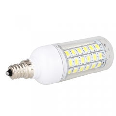 E12 7.5W  LED Corn Light Bulb 56 LEDs 5730 SMD Warm Cool White AC110V