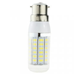 7W B22 AC 220V 5730 SMD 56 LEDs Lamp Bulb Warm/Neutral/Cool White LED Corn Light Stripe Housing