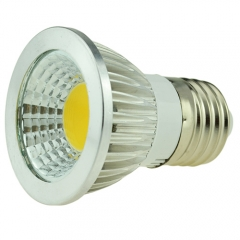 Dimmable E27 AC 220V 6W LED COB Downlight Bulb Warm / Cool White ,300LM