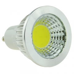 Dimmable GU10 AC 110V 6W LED COB Downlight Bulb Warm Cool Neutral White 300LM