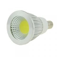 Dimmable E14 9W AC 220V COB Spotlight Cool Neutral Warm White