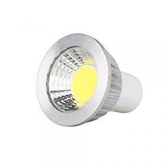 Dimmable GU5.3 AC 220V 6W LED COB Downlight Bulb Warm / Cool White ,300LM
