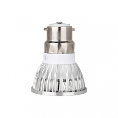 Dimmable B22 AC 220V 6W LED COB Downlight Bulb Warm / Cool White ,300LM