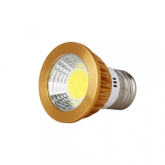RANPO Dimmable Golden E27 12W LED COB Downlight Bulb Warm Cool Neutral White ,AC 110V 220V , 600LM