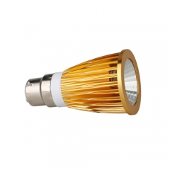 RANPO Dimmable Golden B22 12W LED COB Downlight Bulb Warm Cool Neutral White ,AC 220V,600LM
