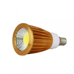 RANPO Dimmable Golden E14 6W LED COB Downlight Bulb Warm Cool Neutral White ,AC 220V,300LM