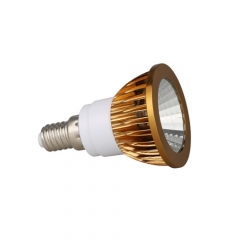 RANPO Dimmable Bronze E14 6W LED COB Downlight Bulb Warm Cool Neutral White ,AC 220V , 300LM