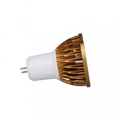 RANPO Bronze GU5.3 6W LED COB Downlight Bulb Warm Cool Neutral White ,AC 85-265V , 300LM