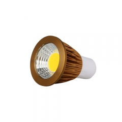 RANPO Bronze GU5.3 9W LED COB Downlight Bulb Warm Cool Neutral White ,AC 85-265V , 450LM