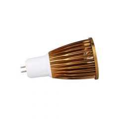 RANPO Bronze GU5.3 12W LED COB Downlight Bulb Warm Cool Neutral White ,AC 85-265V , 600LM