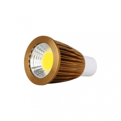 RANPO Dimmable Bronze GU5.3 12W LED COB Downlight Bulb Warm Cool Neutral White ,AC 220V , 600LM