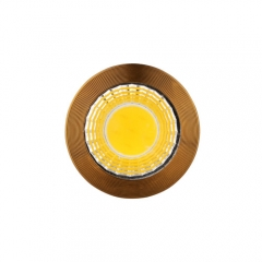 RANPO Bronze B22 6W LED COB Downlight Bulb Warm Cool Neutral White ,AC 85-265V , 300LM