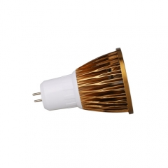 RANPO Dimmable Bronze GU5.3 9W LED COB Downlight Bulb Warm Cool Neutral White ,AC 220V , 450LM