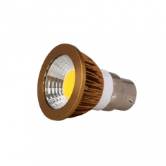 RANPO Dimmable Bronze B22 6W LED COB Downlight Bulb Warm Cool Neutral White ,AC 220V , 300LM