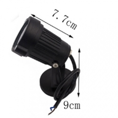 6W Outdoor Landscape LED Garden Floodlight Lawn Lamp With Rod,DC 12V,Garden Path Spot Light