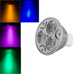 Ranpo Colorful MR16 3W LED Bulb Spotlight RED Yellow Blue Green Purple Lighting DC 12V
