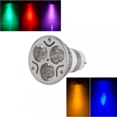 Ranpo B22 3W LED Bulb Spotlight RED Yellow Blue Green Purple Lighting AC 85-265V