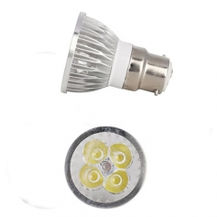 Ranpo Dimmable B22 Bayonet 12W LED Spotlight Warm Cold Natural White AC 220V