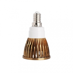 Ranpo Bronze Color E14 12W LED Spotlight Warm Cold Natural White AC 85-265V