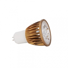 Ranpo Dimmable Bronze Color GU5.3 12W LED Spotlight Warm Cold Natural White AC 220V  110V
