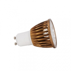 Ranpo Dimmable  Bronze Color GU10 12W LED Spotlight Warm Cold Natural White AC 110V 220V