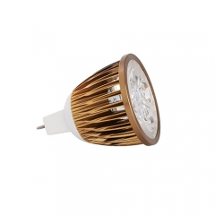 Ranpo Dimmable Bronze Color MR16 12W LED Spotlight Warm Cold Natural White DC 12V