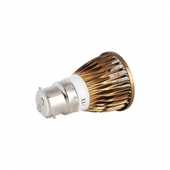 Dimamble Ranpo Bronze Color B22 12W LED Spotlight Warm Cold Natural White AC 220V