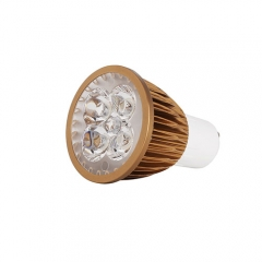 Ranpo Bronze Color GU10 12W LED Spotlight Warm Cold Natural White AC 85-265V