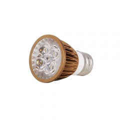 Ranpo Bronze Color E27 12W LED Spotlight Warm Cold Natural White AC 85-265V