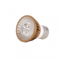 Ranpo Dimmable  Bronze Color E27 6W LED Spotlight Warm Cold Natural White AC  110V 220V