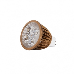 Ranpo Bronze Color MR16 12W LED Spotlight Warm Cold Natural White DC 12V