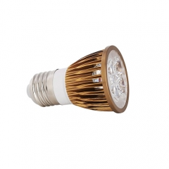 Ranpo Dimmable Bronze Color E27 12W LED Spotlight Warm Cold Natural White AC 110V 220V