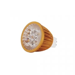 Ranpo Golden Color MR16 12W LED Spotlight Warm Cold Natural White DC 12V