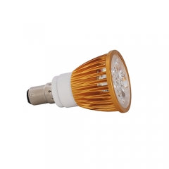 Ranpo Golden Color Dimmable B15 12W LED Spotlight Warm Cold Natural White  220V