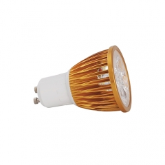 Ranpo Golden Color GU10 12W LED Spotlight Warm Cold Natural White  85-265V