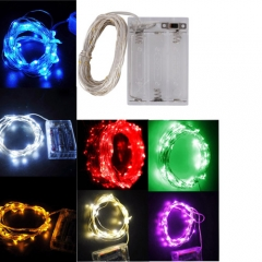 2M LED String Red/Yellow/Cool White/Warm White/Blue/Green/Purple Light Lamp Rope