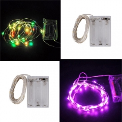 Ranpo 10M LED String  Light Pink Purple Colorful Lamp Rope