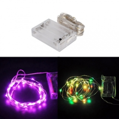 Ranpo Purple Pink Colorful 5M LED String  Light Lamp Rope